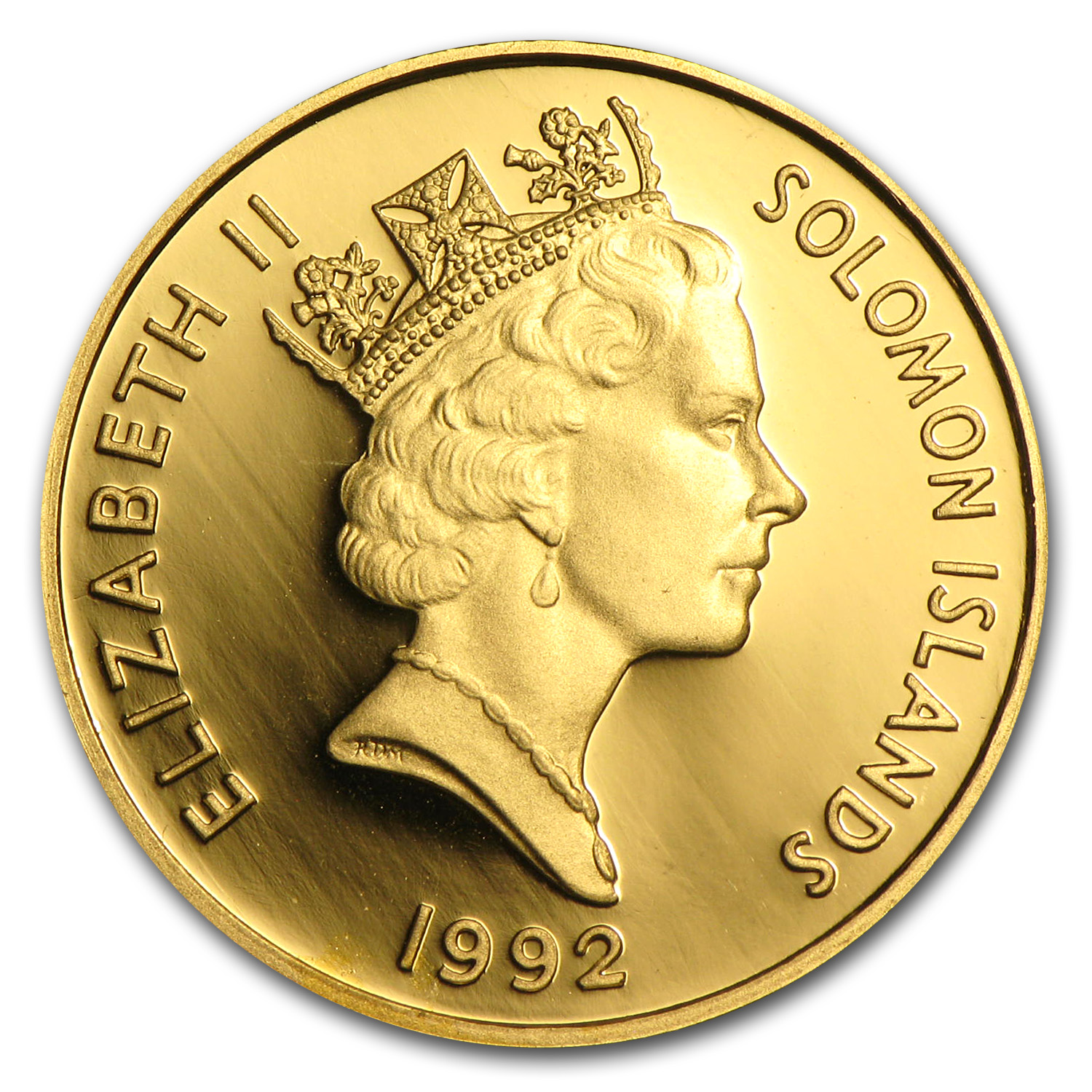 Solomon Islands 1991-1995 $25 Gold Proof (Famous Battles of WWII)