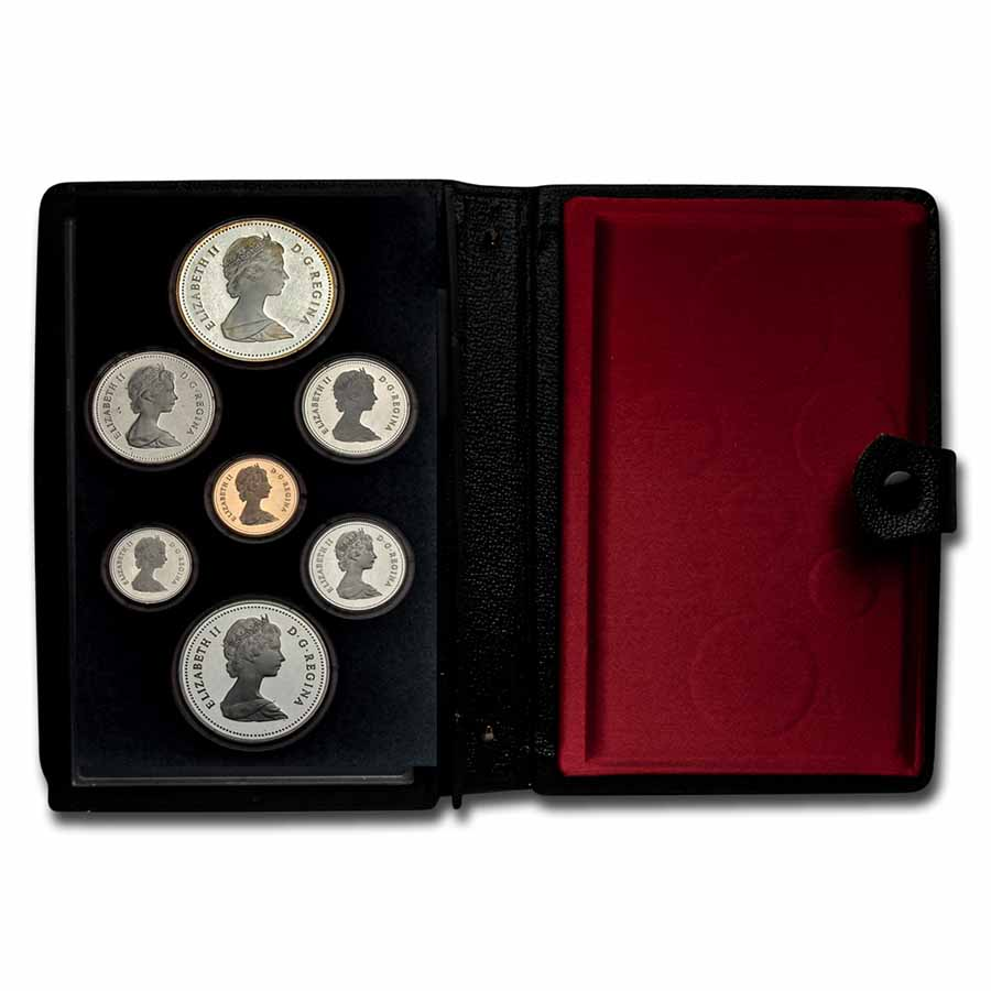 Canada 1981 Proof Specimen Set - 7 Coin Set