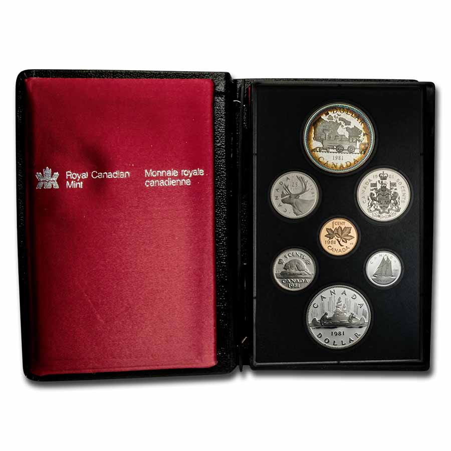1981 Canada 7-Coin Specimen Proof Set