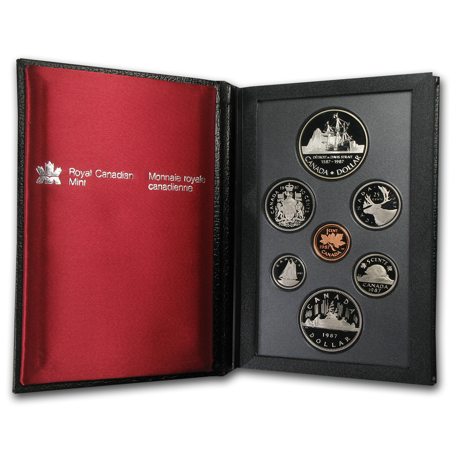 Canada 1987 Proof Specimen Set - 7 Coin Set