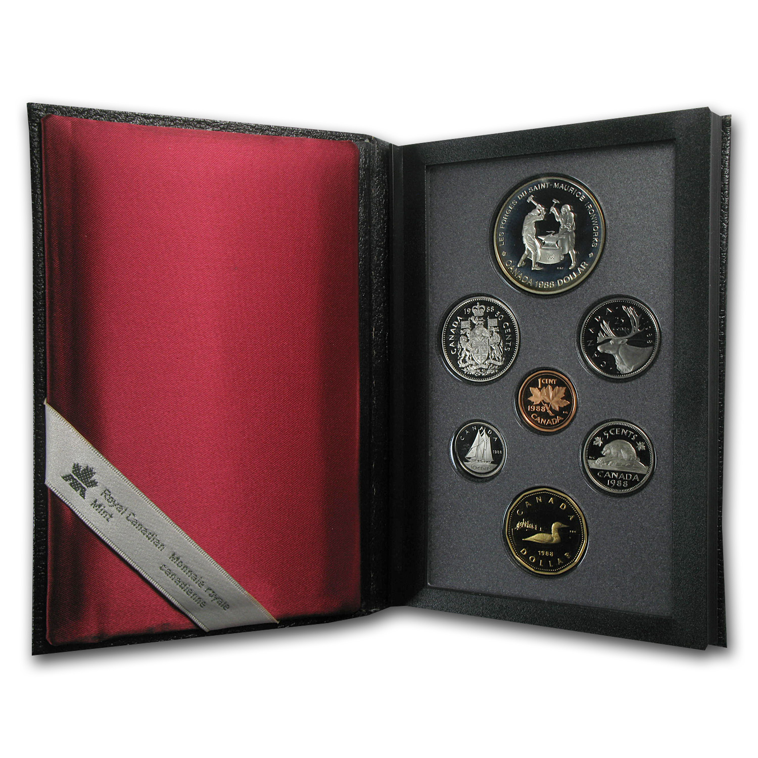 1988 Canada 7-Coin Specimen Proof Set