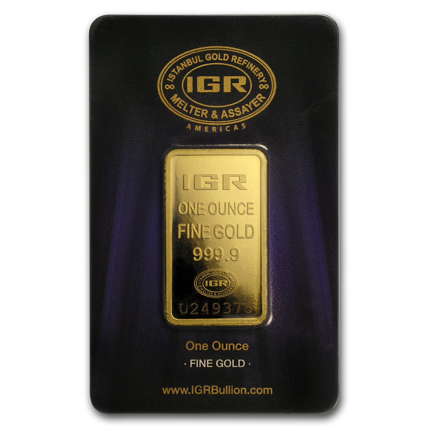 1 oz Gold Bar - Istanbul Gold Refinery (In Assay)