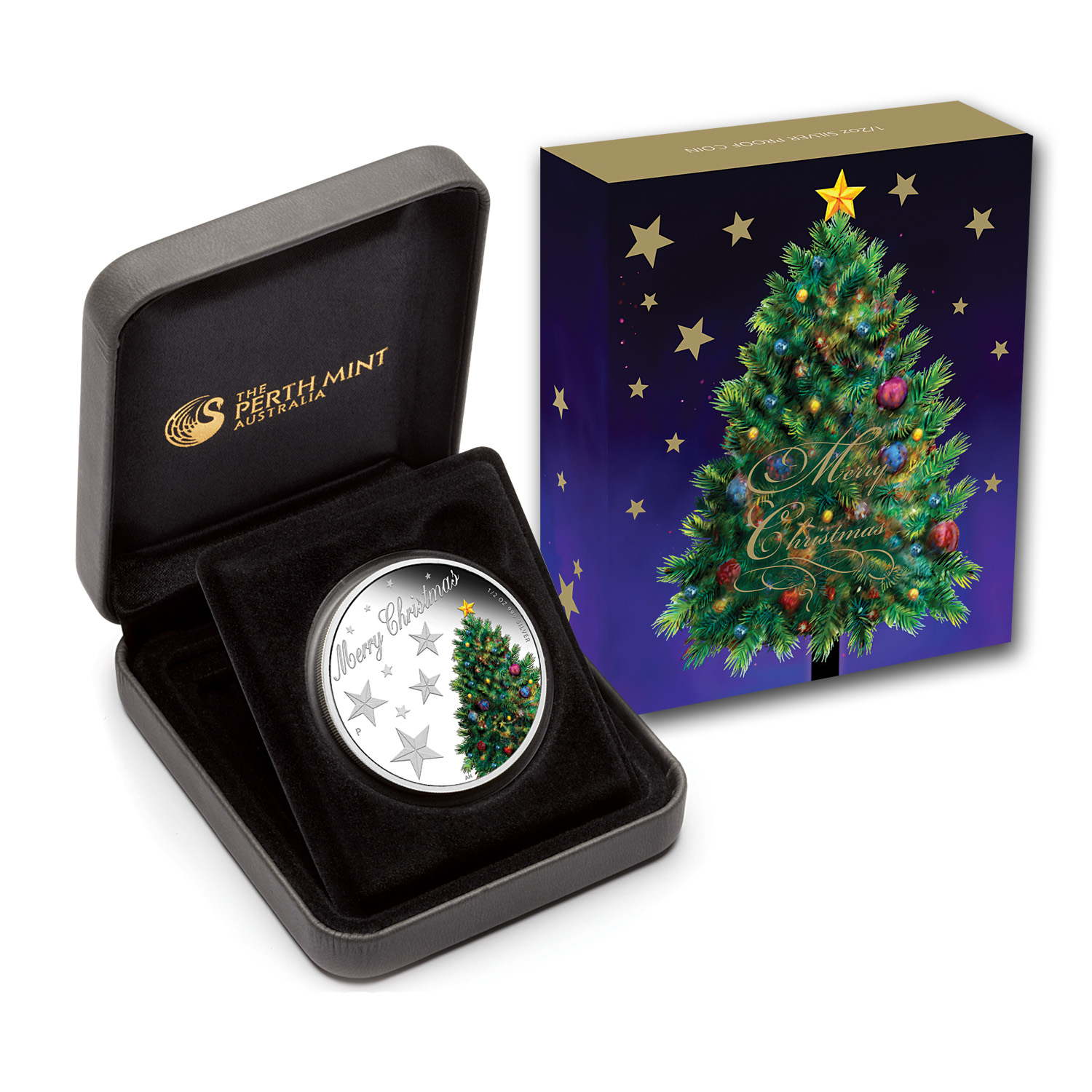 2013 Australia 1/2 oz Silver Christmas Proof
