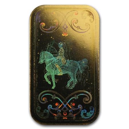 10 gram gold bar austrian mint kinebar design in assay. Black Bedroom Furniture Sets. Home Design Ideas