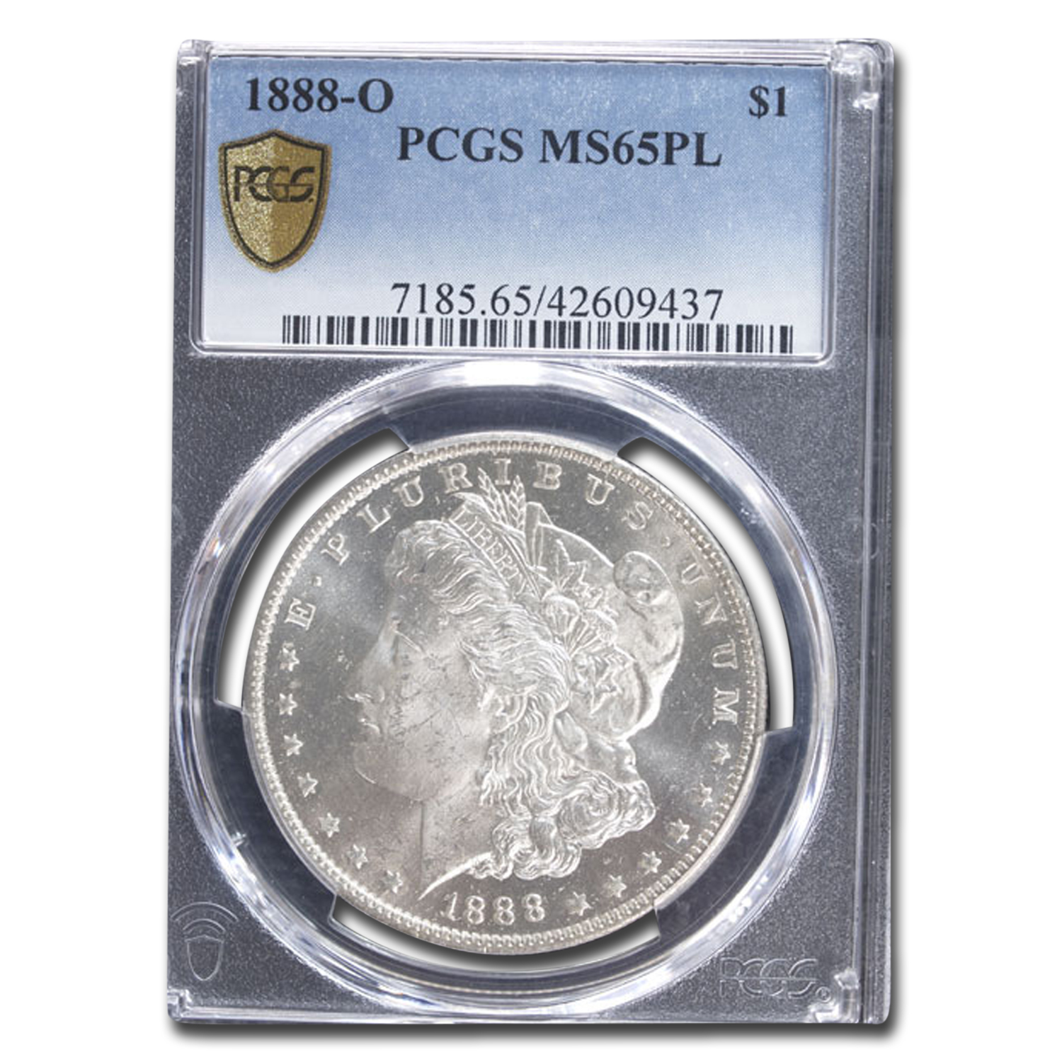 1888-O Morgan Dollar MS-65 PL Proof Like PCGS