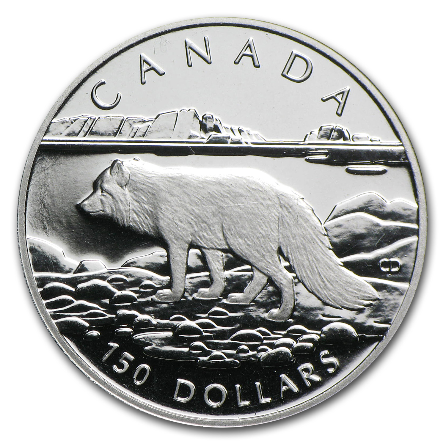 1993 Canada 1/2 oz Proof Platinum Arctic Fox $150