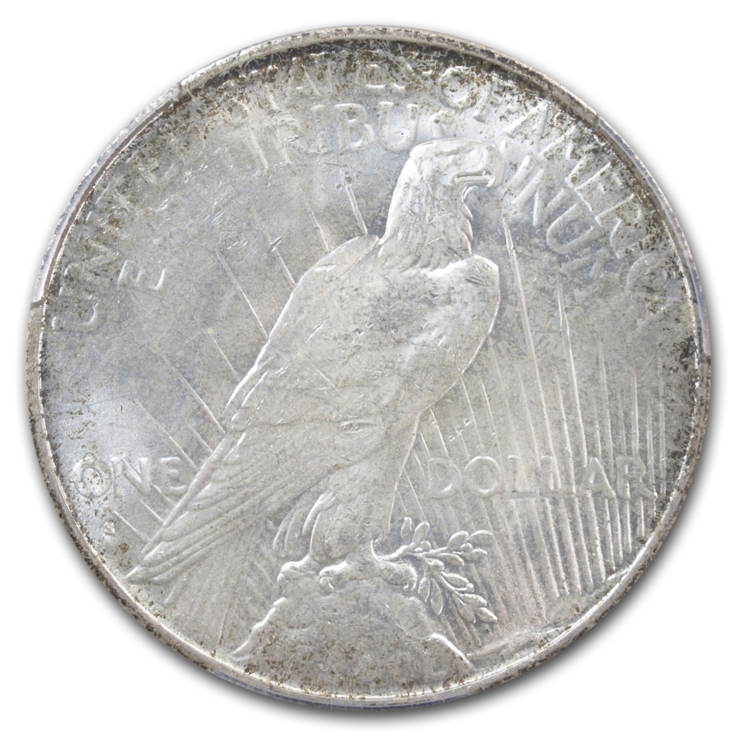 1935-S Peace Dollar MS-64+ Plus PCGS