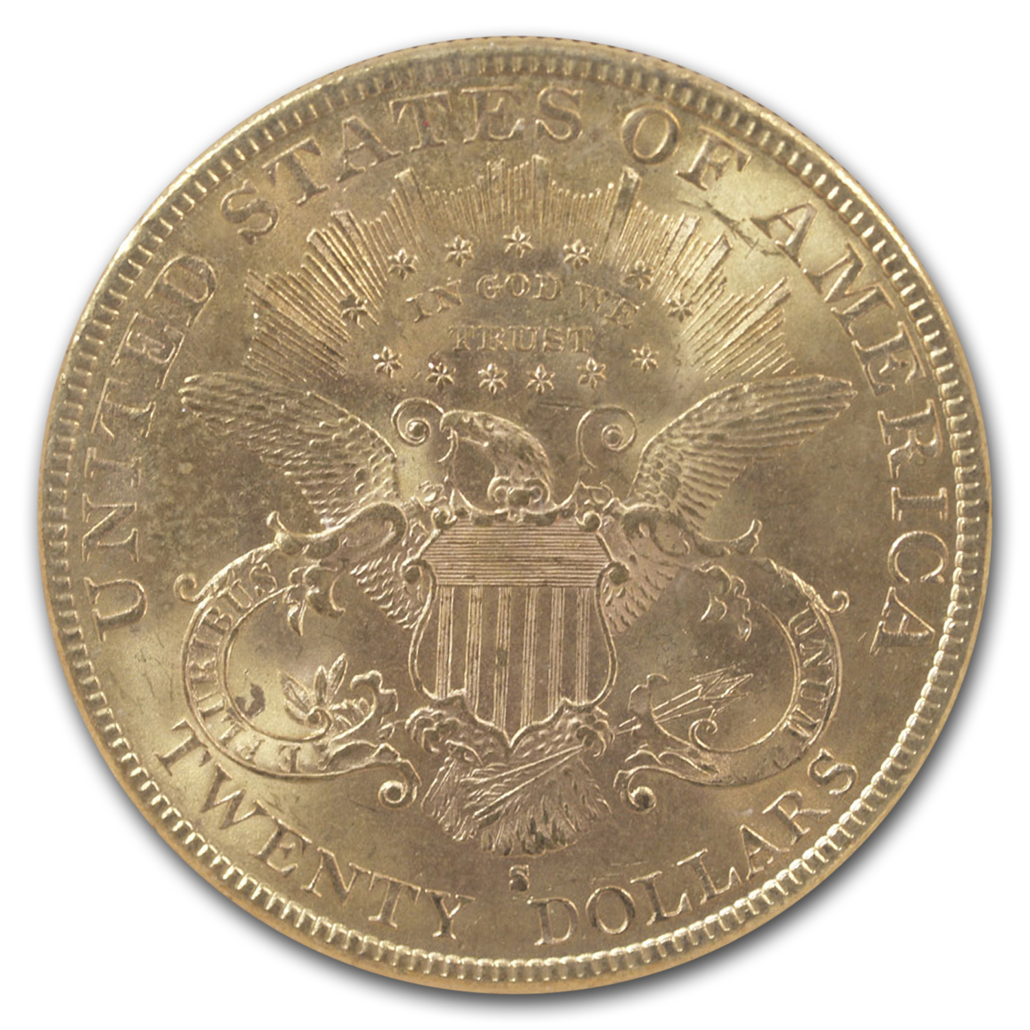 1893-S $20 Liberty Gold Double Eagle MS-63 NGC