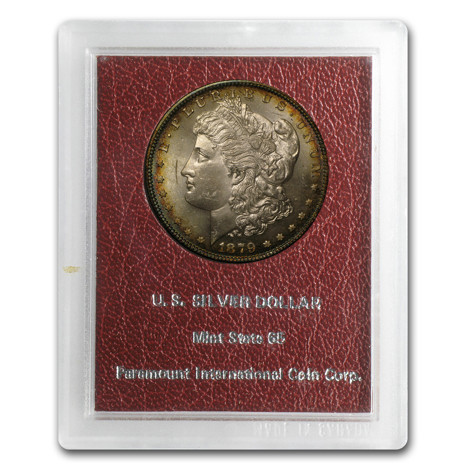 1879-S Morgan Dollar MS-65 (Paramount International Coin Co.)