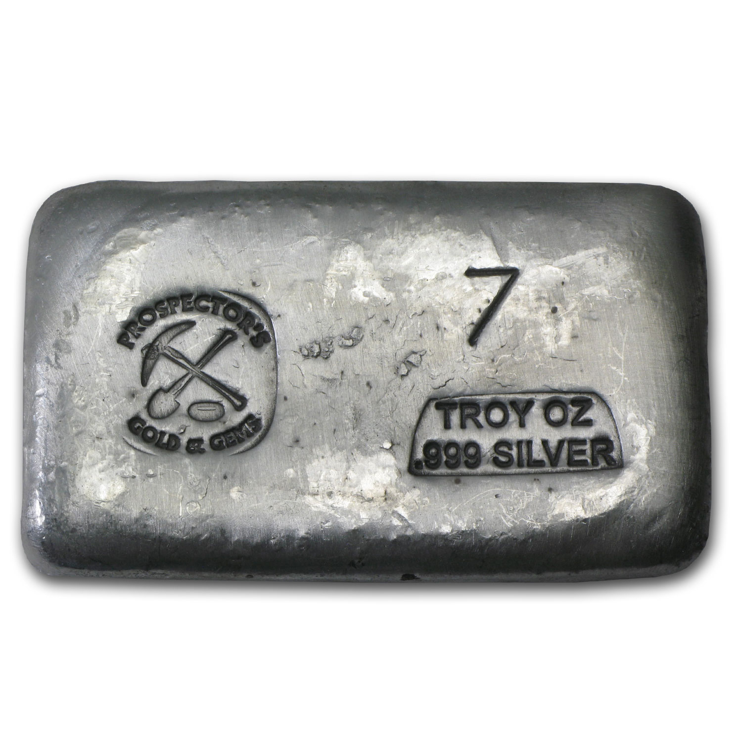 7 oz Silver Bar - Prospector's Gold & Gems