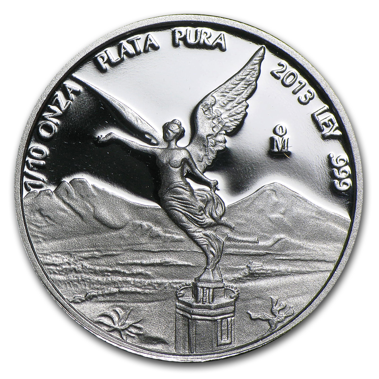 2013 (1/10 oz) Silver Libertad - Proof (In Capsule)