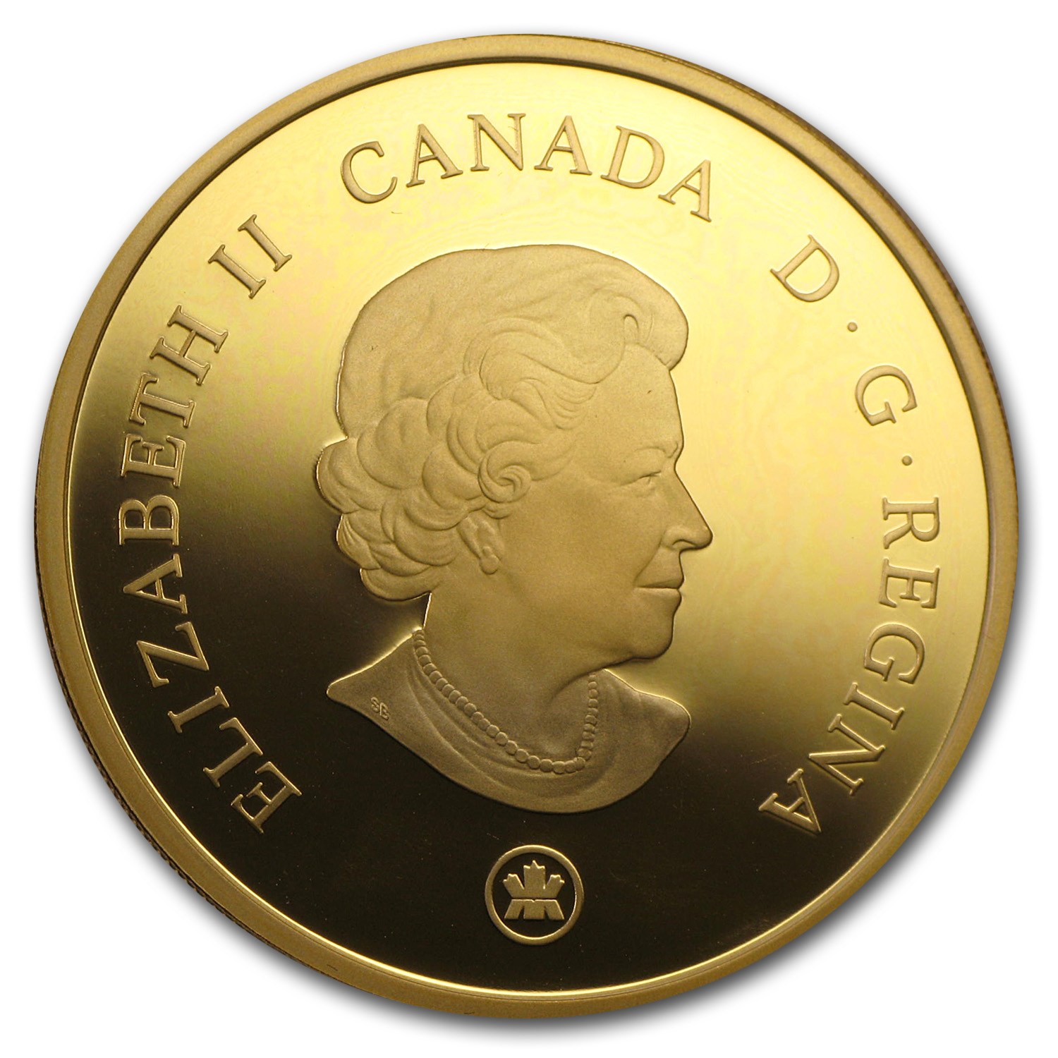 2007 Canada Proof Gold Achievements $300 Panoramic Photography
