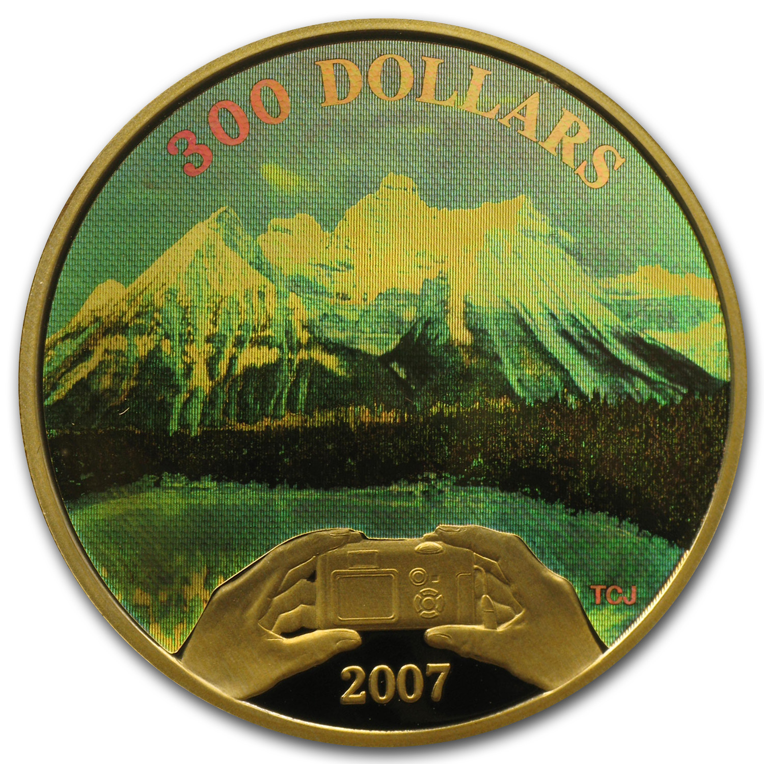 2007 Prf Gold Coin Canadian Achievements - Panoramic Photography