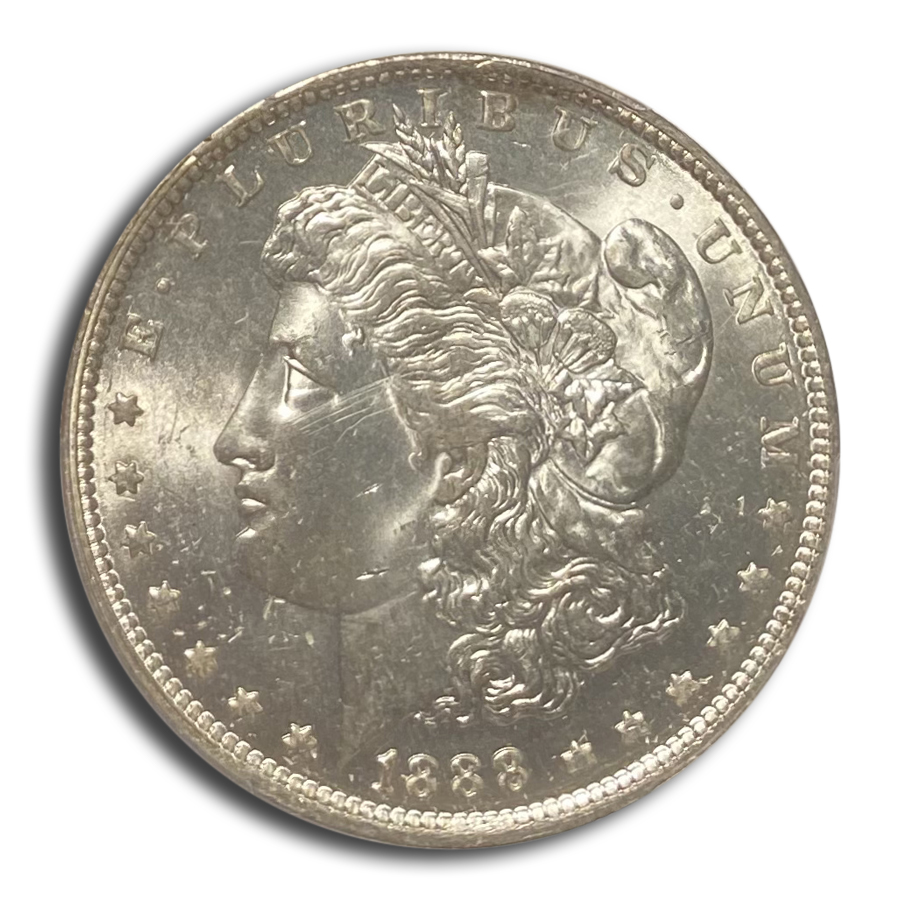 1888-O Morgan Dollar - MS-65+ Plus PCGS