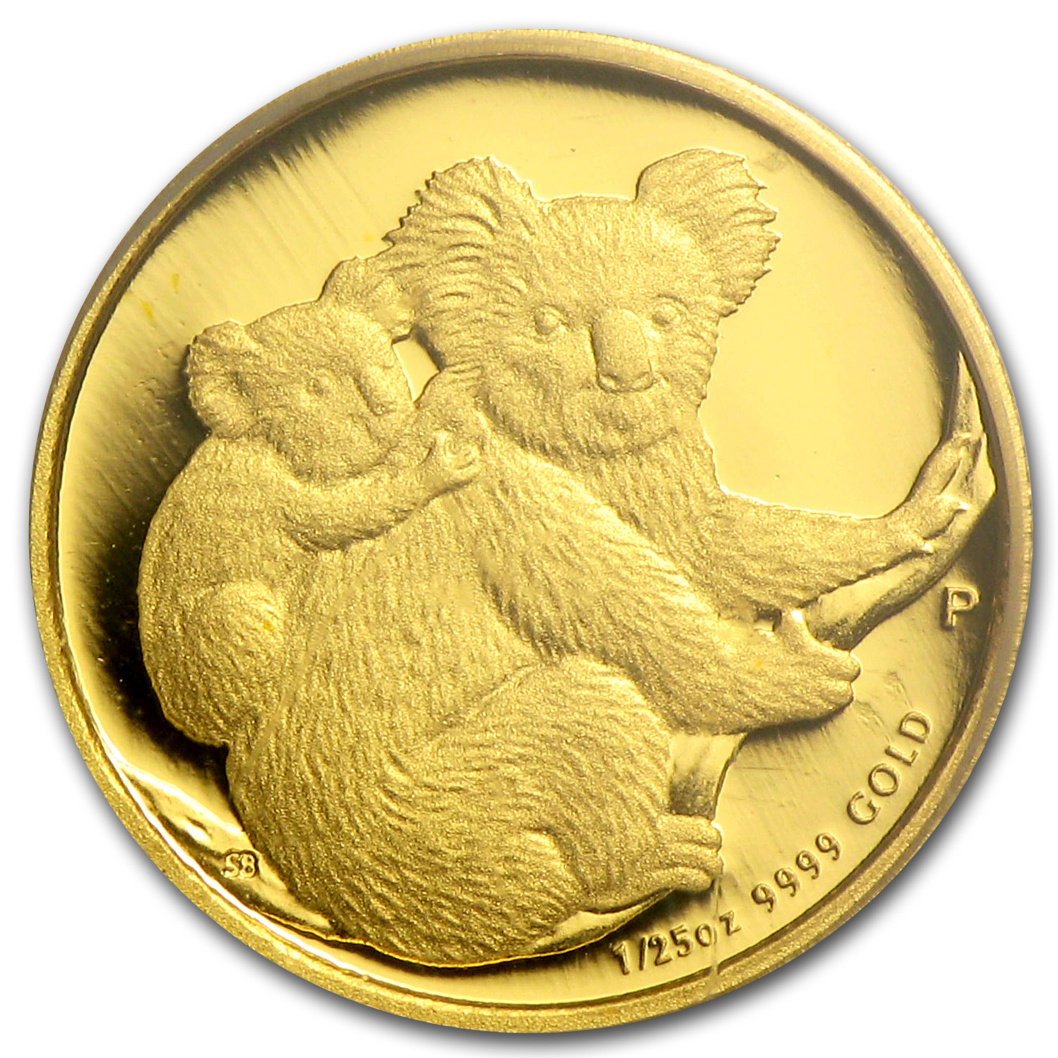 2008 Australia 1/25 oz Gold Koala Gem Proof PCGS (FS)