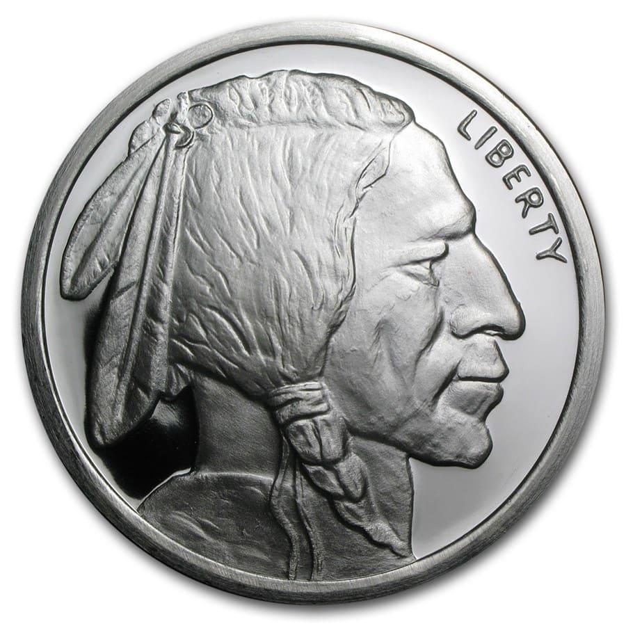 5 Oz Silver Round Buffalo 5 Oz Silver Rounds Apmex