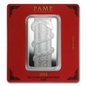 250 Gram Silver Bar Geiger Security Line Series 1 4