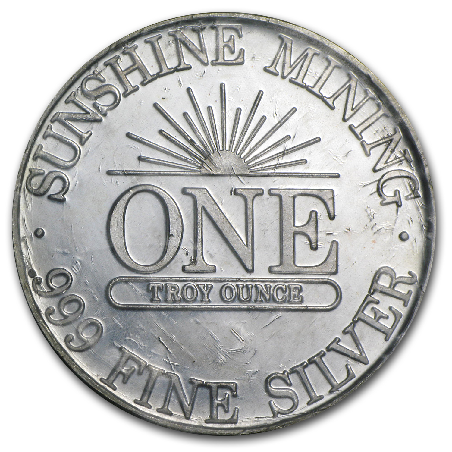 1 oz Silver Rounds - Sunshine Mining (Sealed/Very Nice)