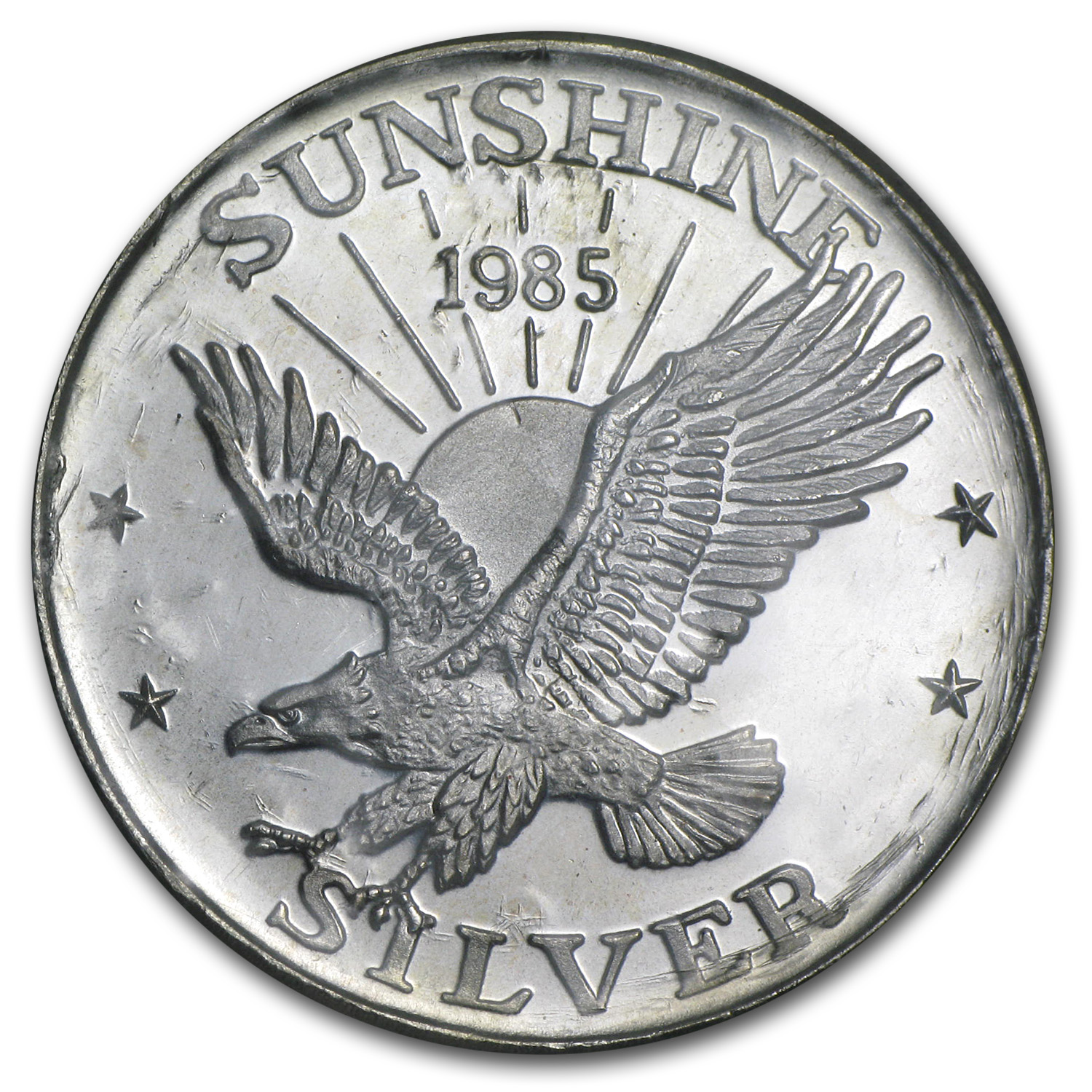 1 oz Silver Round - Sunshine Mining (Sealed/Very Nice)