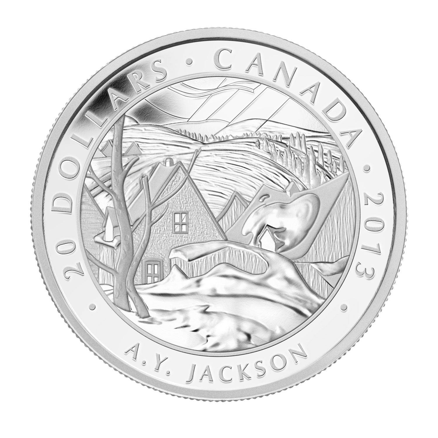 2013 Canada 1 oz Silver $20 Group of Seven (A.Y. Jackson)