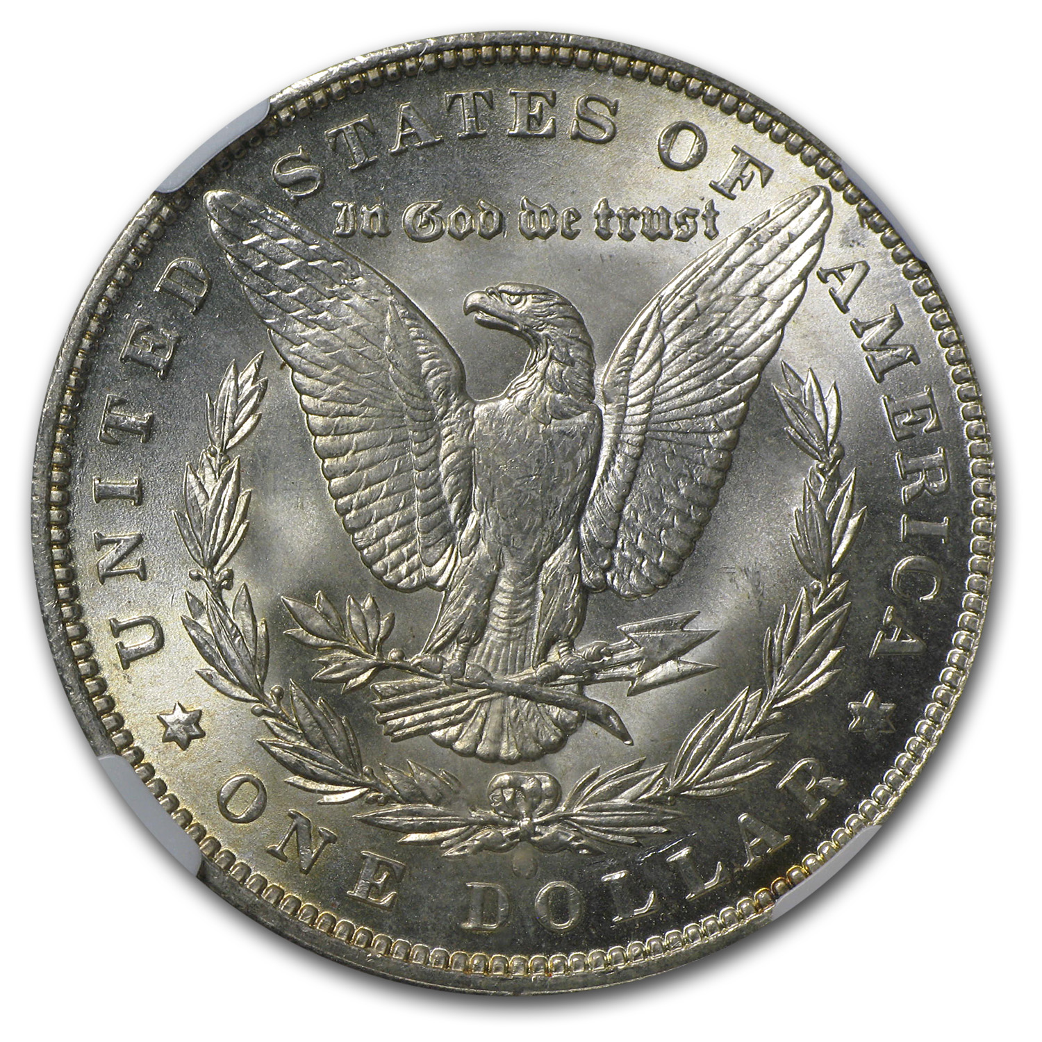 1892-O Morgan Dollar - MS-64+ Plus NGC - CAC