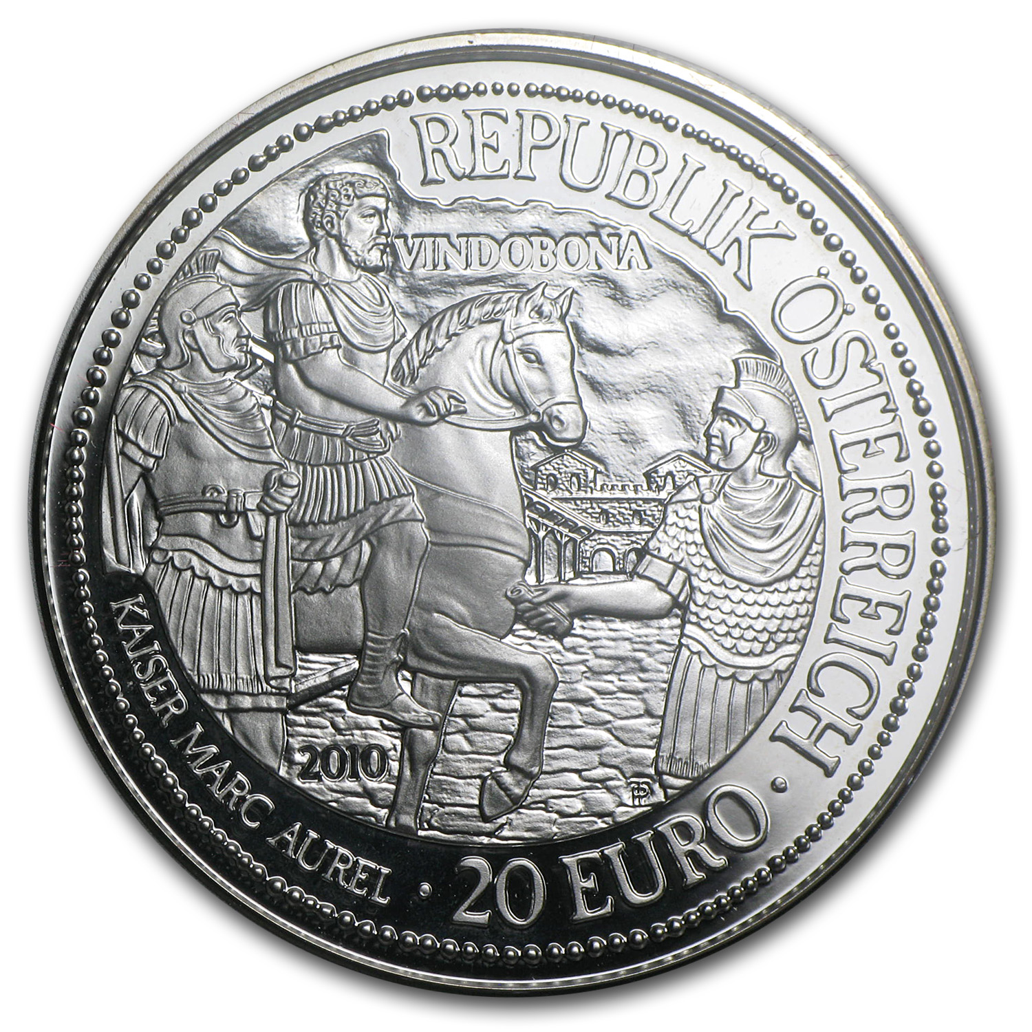 2010 Austria Silver €20 Vindobona Proof