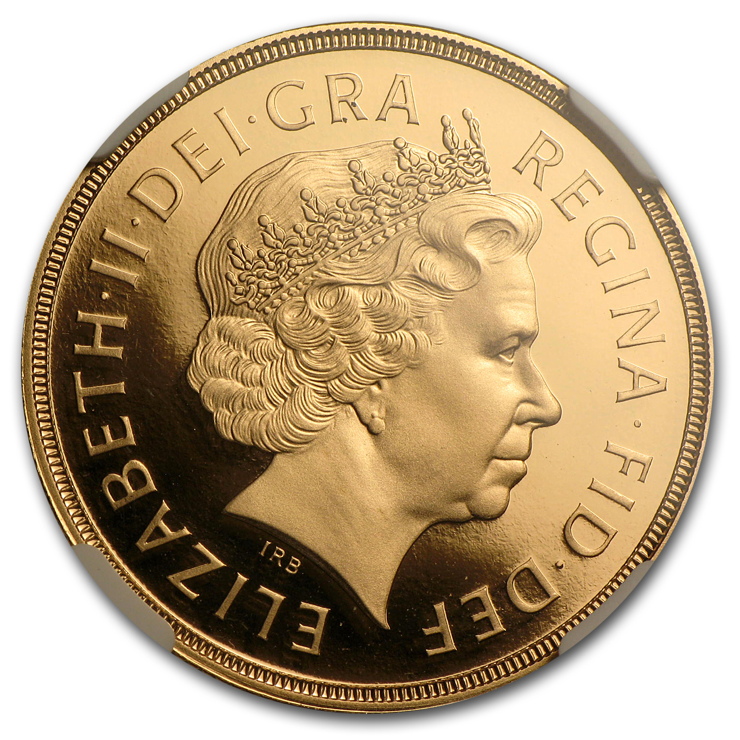 2009 Great Britain Gold £2 PF-70 NGC