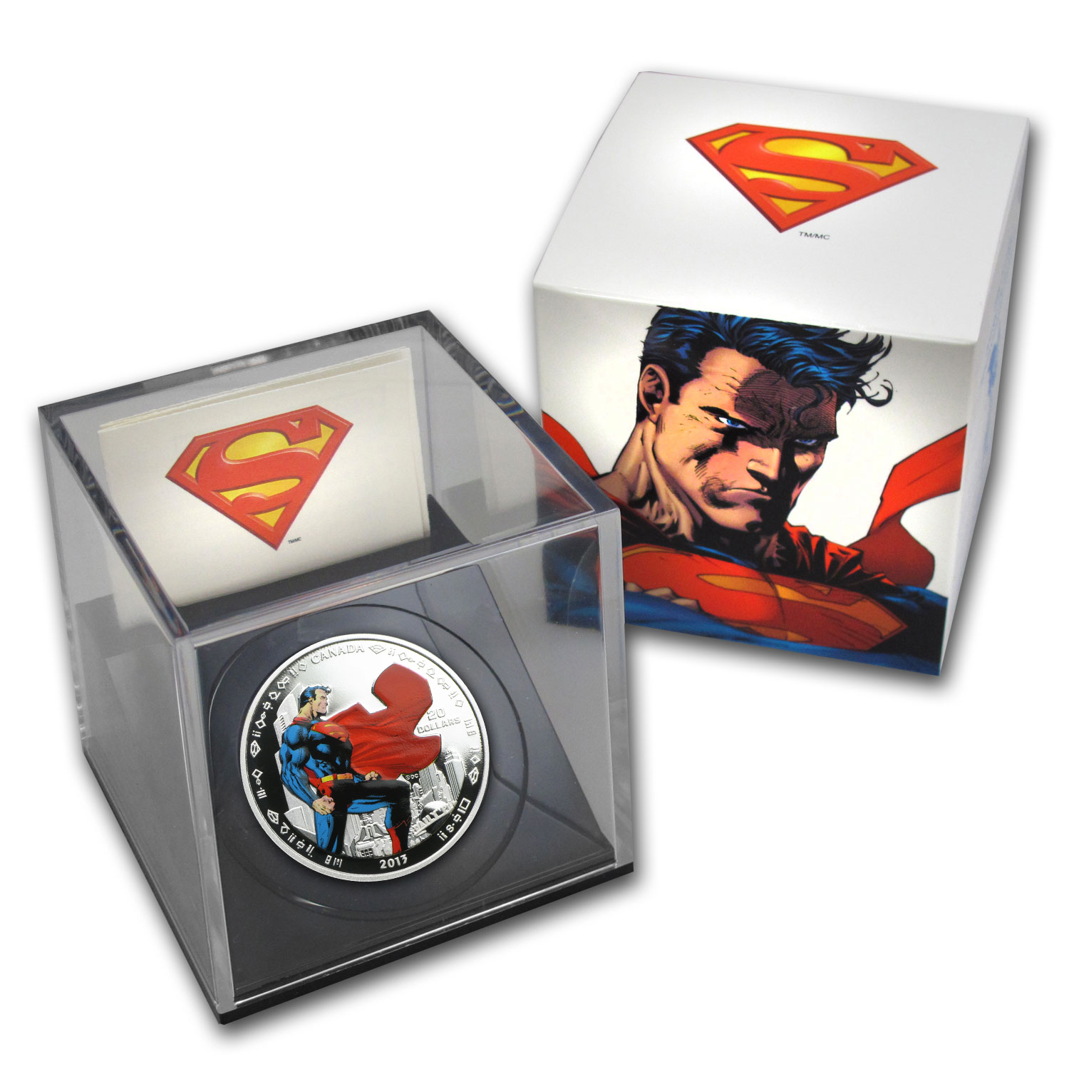2013 Canada 1 oz Silver 75th Anniv. of Superman™ Man of Steel