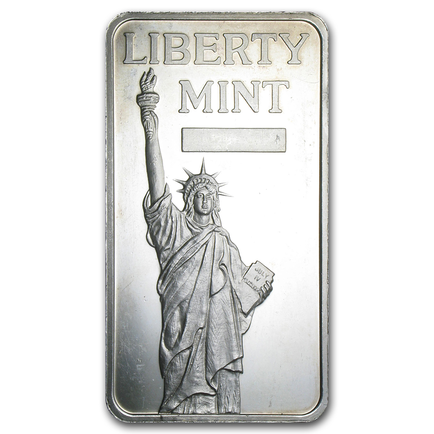 10 oz Silver Bars - Liberty Mint