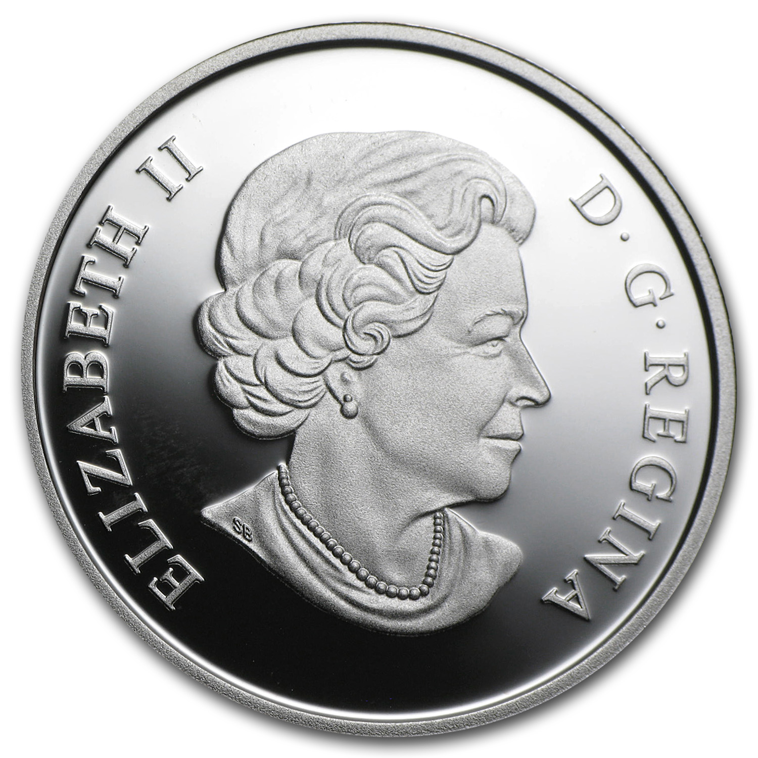 2011 Ultra-High Relief Silver Canadian $15 - The Prince of Wales