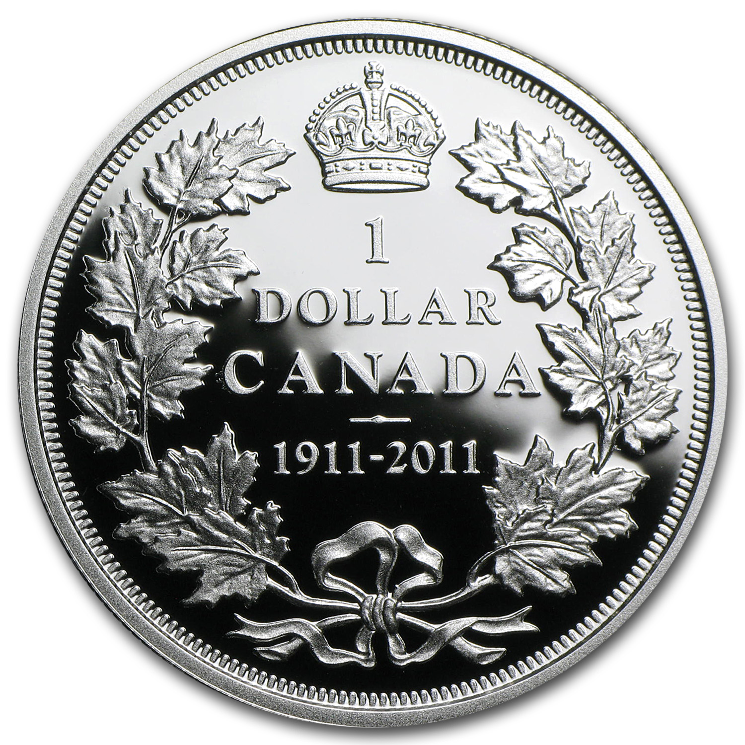2011 Canada Silver $1 100th Anniv. of the Pattern Silver Dollar