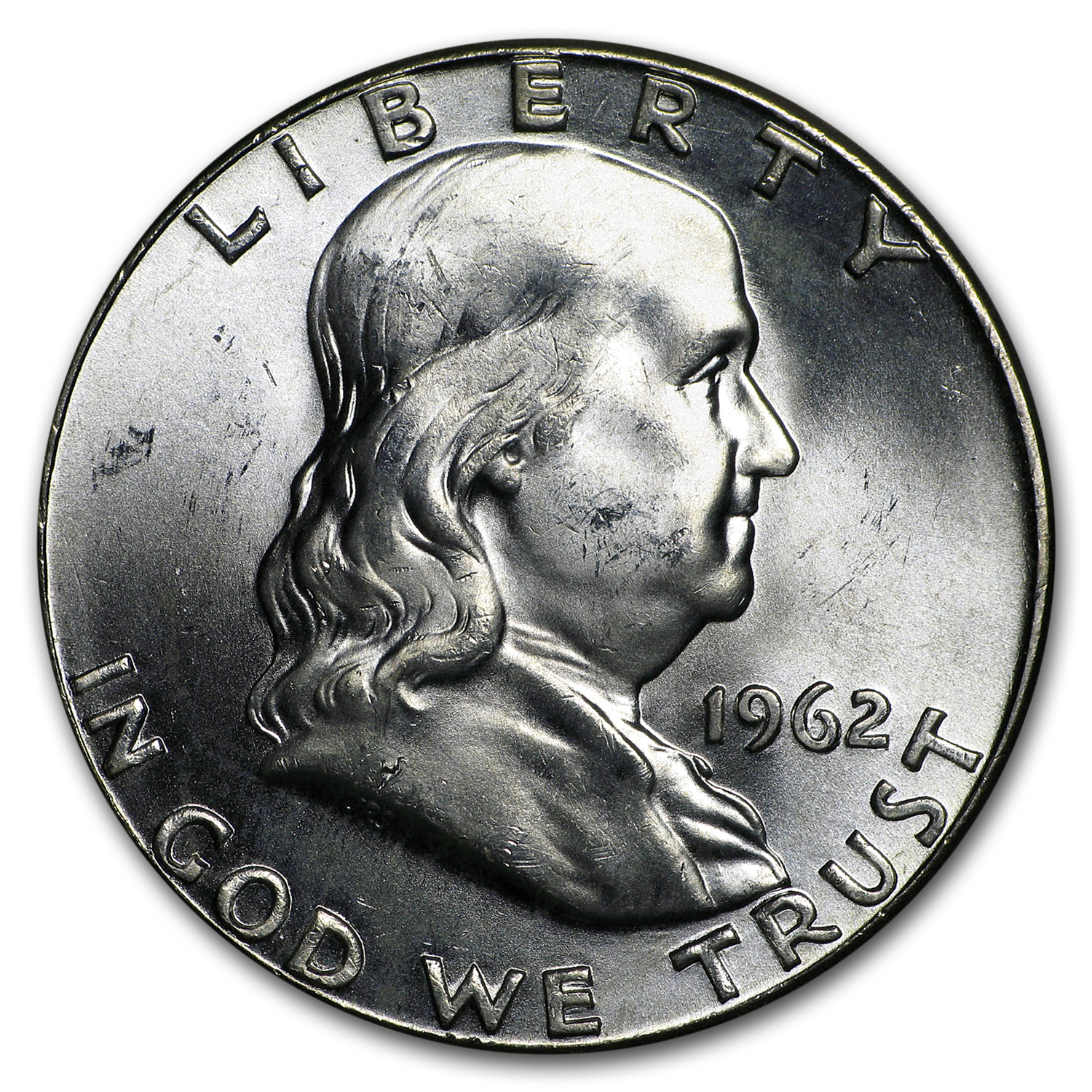 1962 Franklin Half Dollar BU