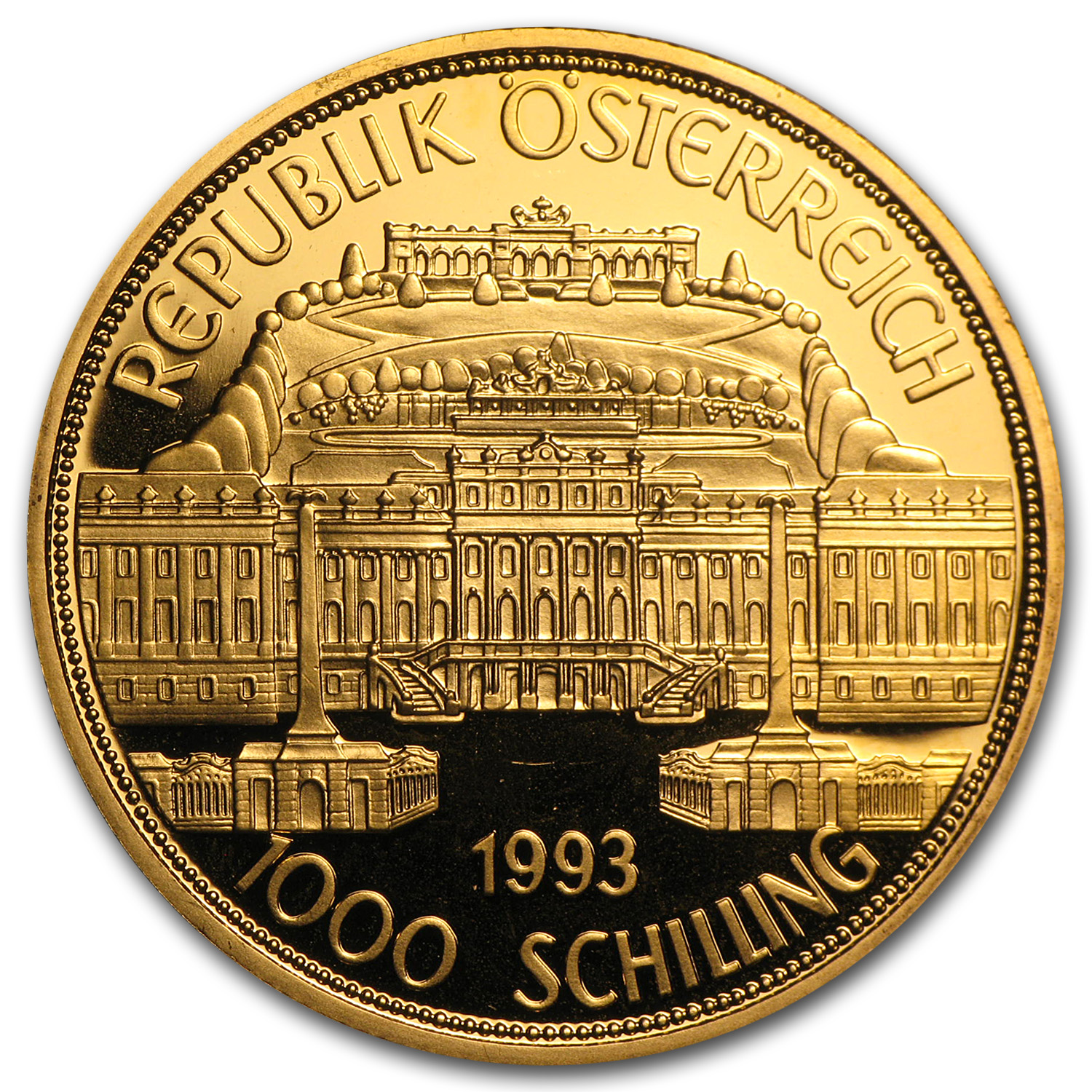 1990-2001 Austria Gold 1000 Schilling Commemoratives (Random)