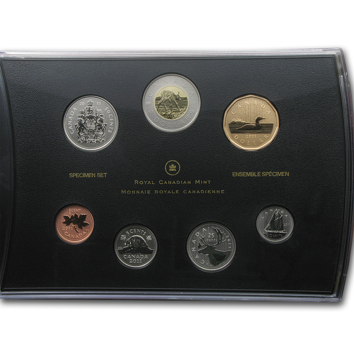 2011 Royal Canadian Mint Special Edition Specimen Set - Elk Calf