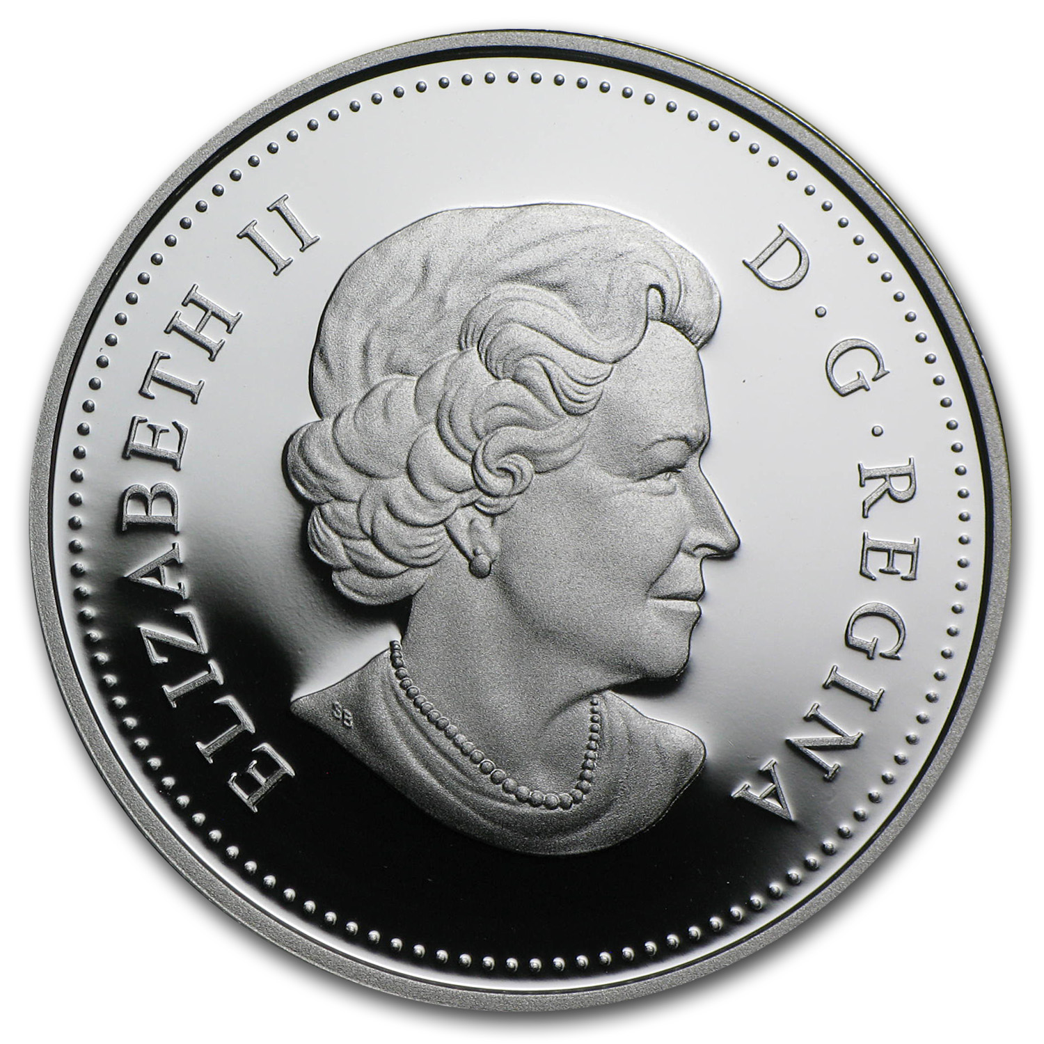 2010 Canada Silver Dollar 100th Anniv. of the Canadian Navy