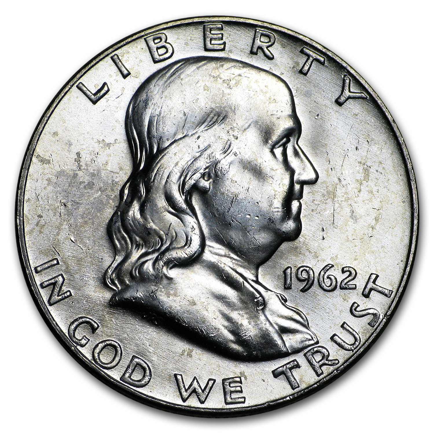 1962-D Franklin Half Dollar BU