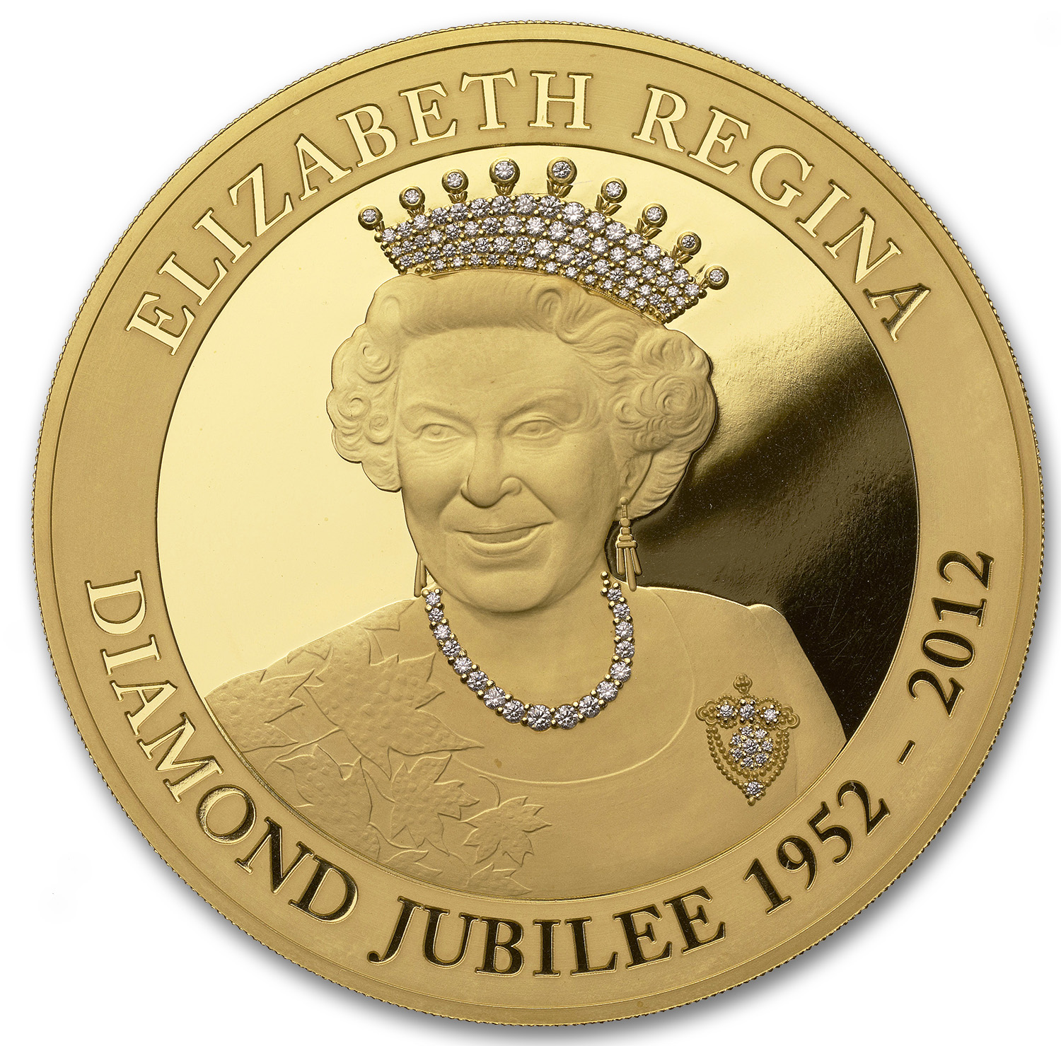 2013 1 kilo Gold Queen Elizabeth Diamond Jubilee
