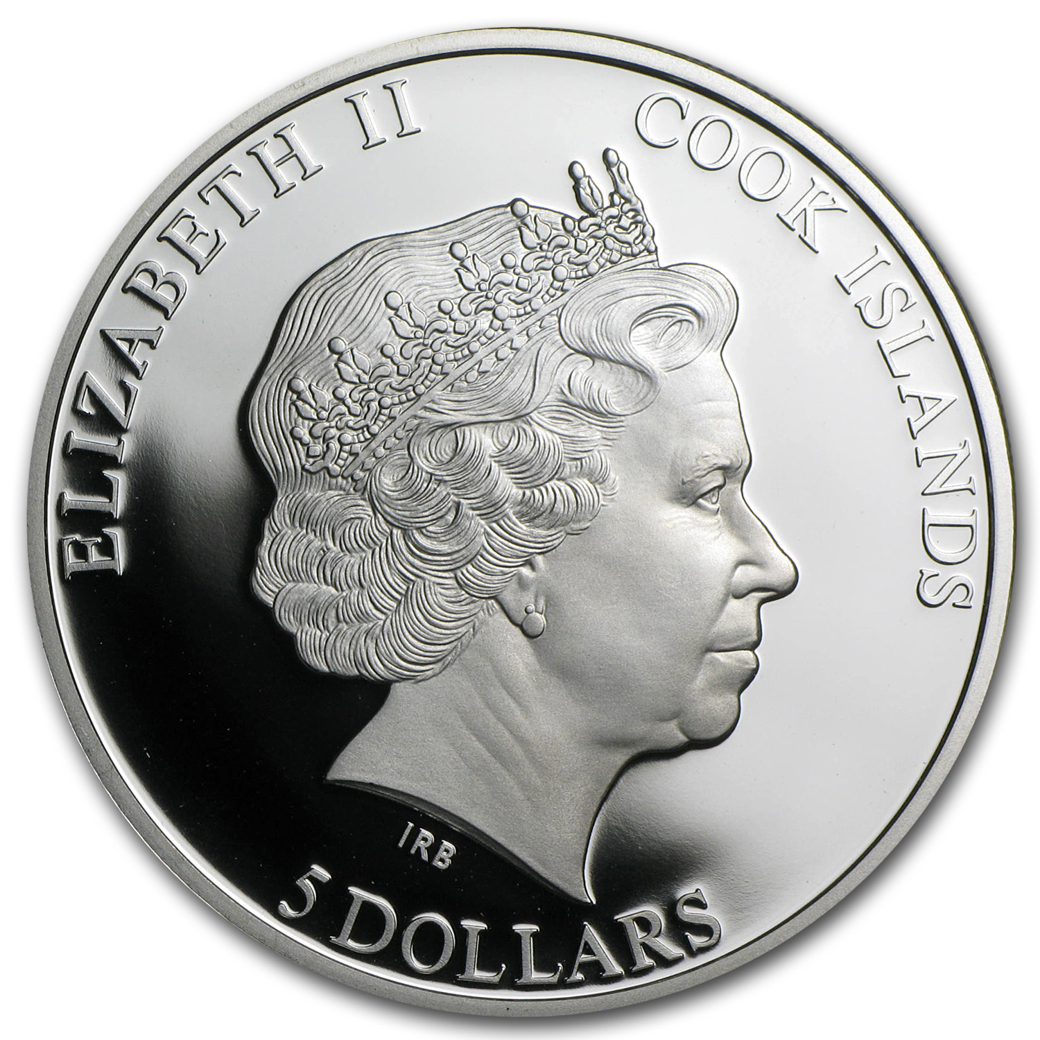 Cook Islands Proof Silver $5 The Name Day - Angel