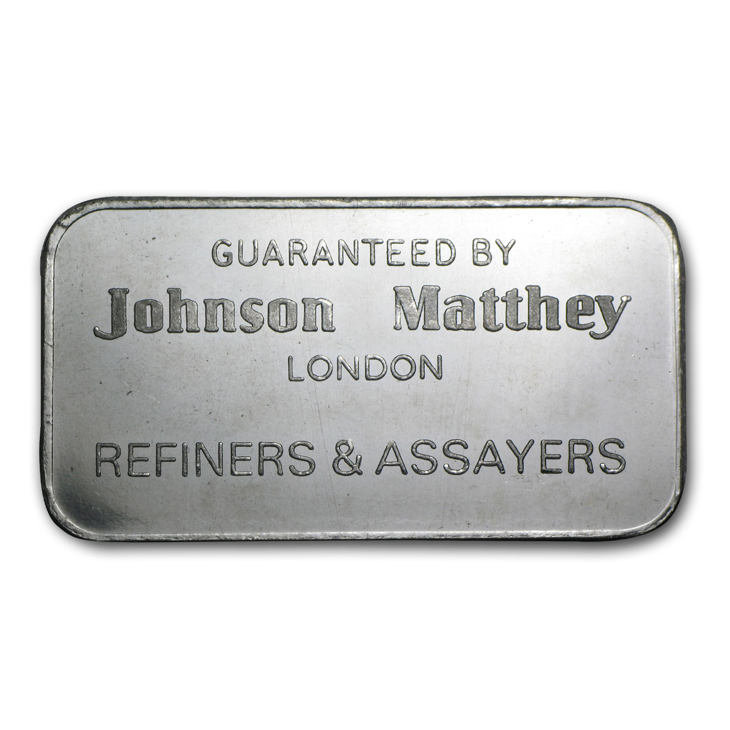 50 Gram Johnson Matthey Platinum Bar (Vintage London) .9995 Fine