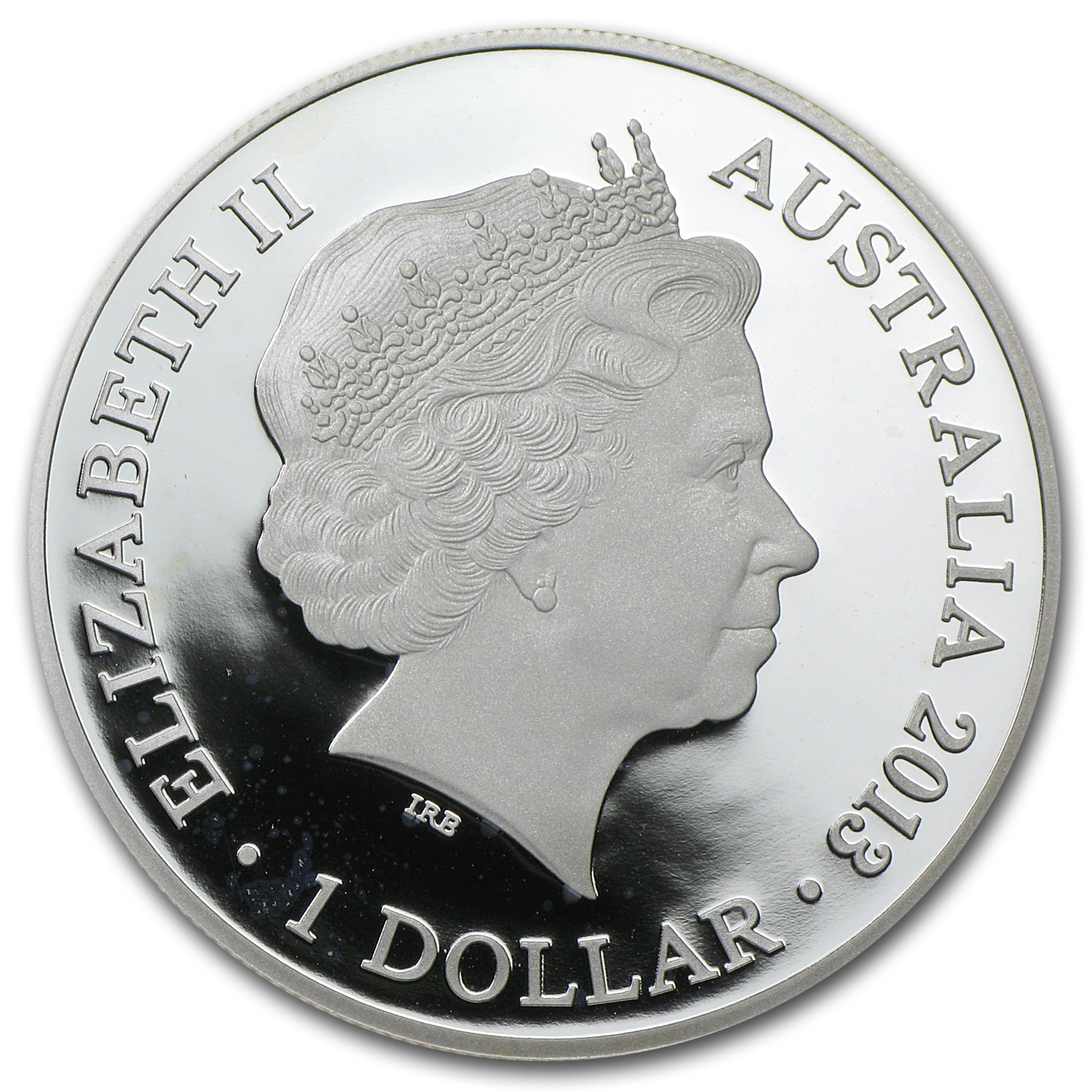Royal Australian Mint 2013 Silver $1 20th Anniv. Kangaroo Spotty