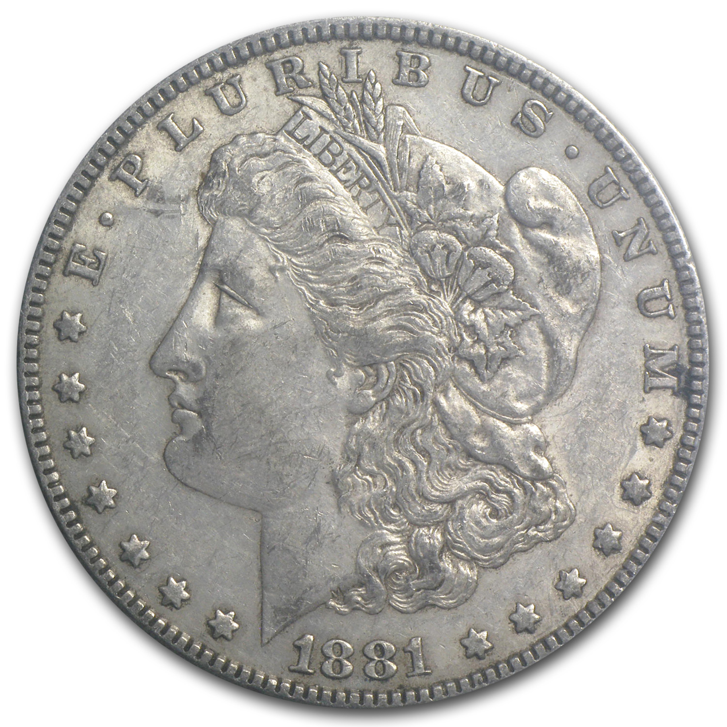 1881 Morgan Dollar AU-53 NGC (GSA Certified, Soft Pack)