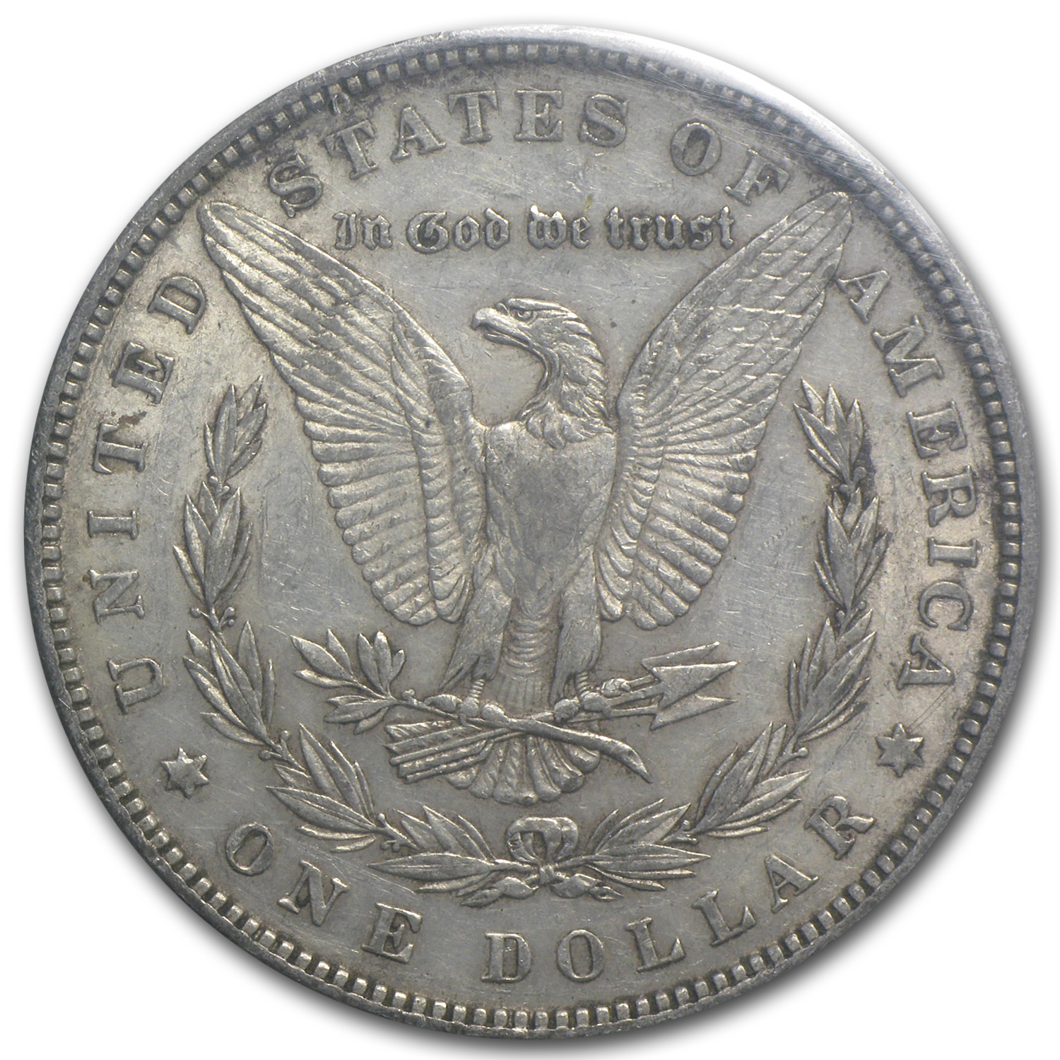 1881 Morgan Dollar AU-53 NGC - GSA Certified Soft Pack
