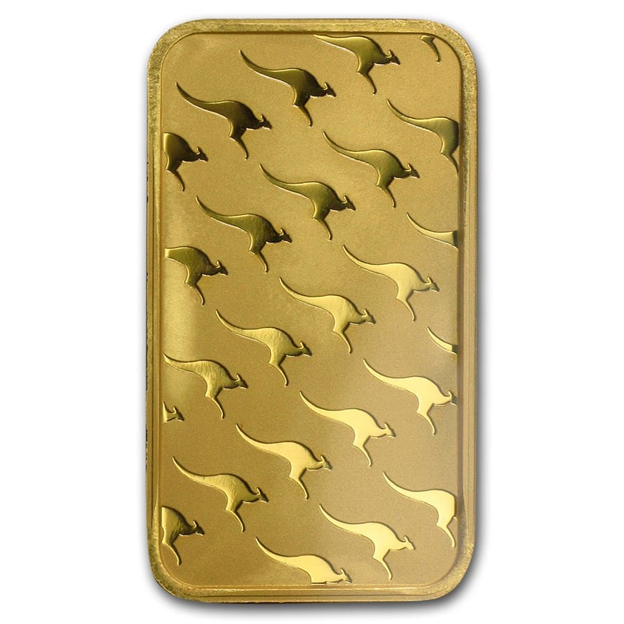 100 gram Gold Bars - Perth Mint (In Assay)
