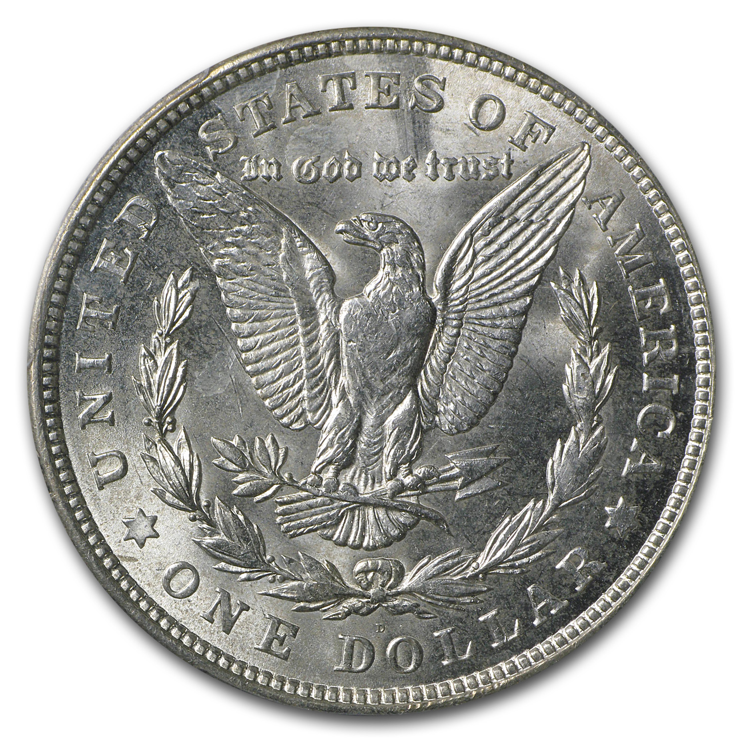 1921-D Morgan Dollar MS-65+ PCGS (CAC)