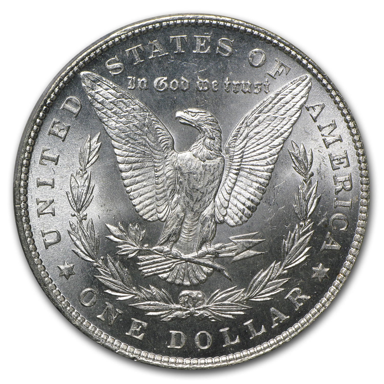 1880 Morgan Dollar MS-64+ Plus PCGS (CAC)