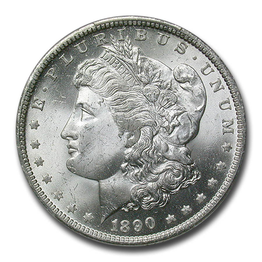 1890-O Morgan Dollar MS-64 PCGS (CAC)