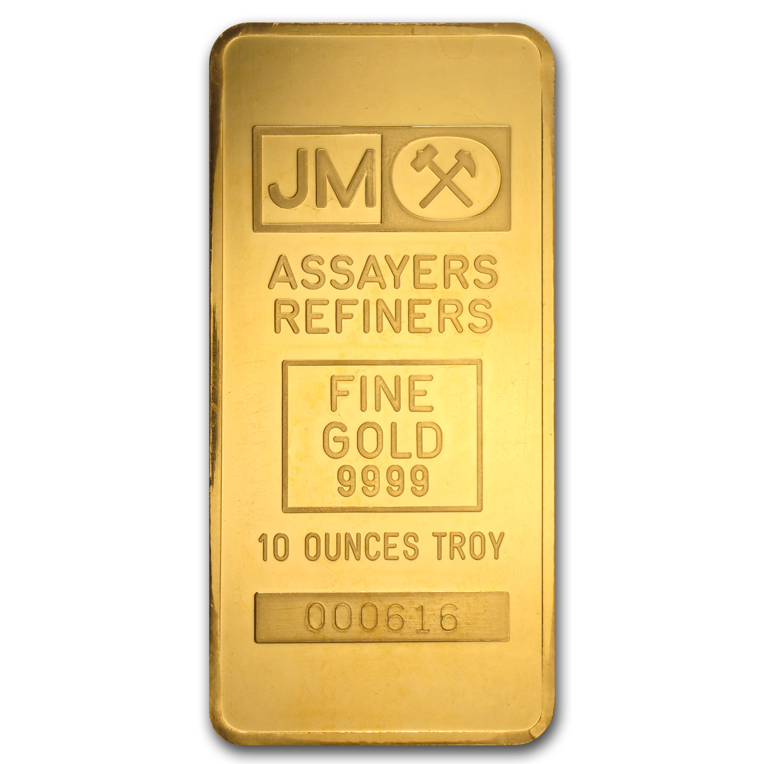 10 oz Gold Bar - Johnson Matthey (TD Bank)