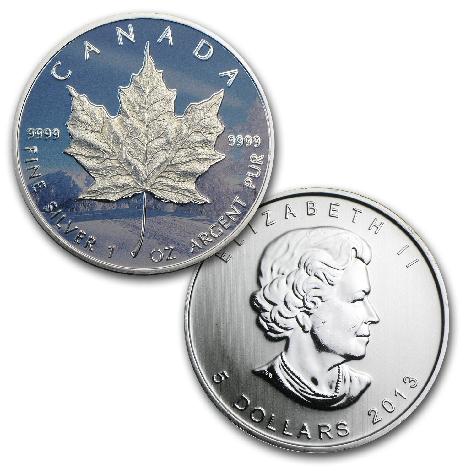 2013 Canada 4-Coin Silver Maple Leaf Set (Four Seasons)