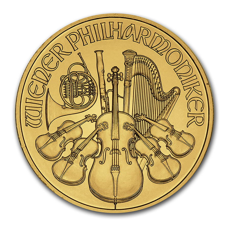 2014 1 oz Gold Austrian Philharmonic