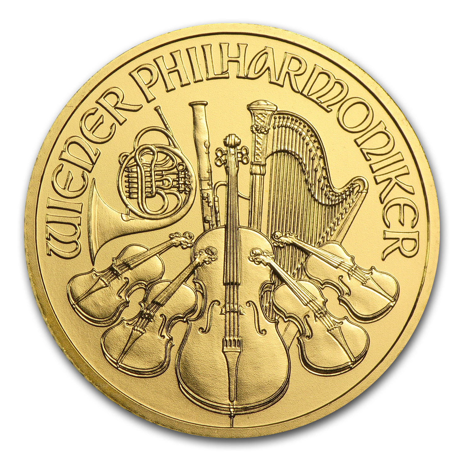 2014 1/4 oz Gold Austrian Philharmonic